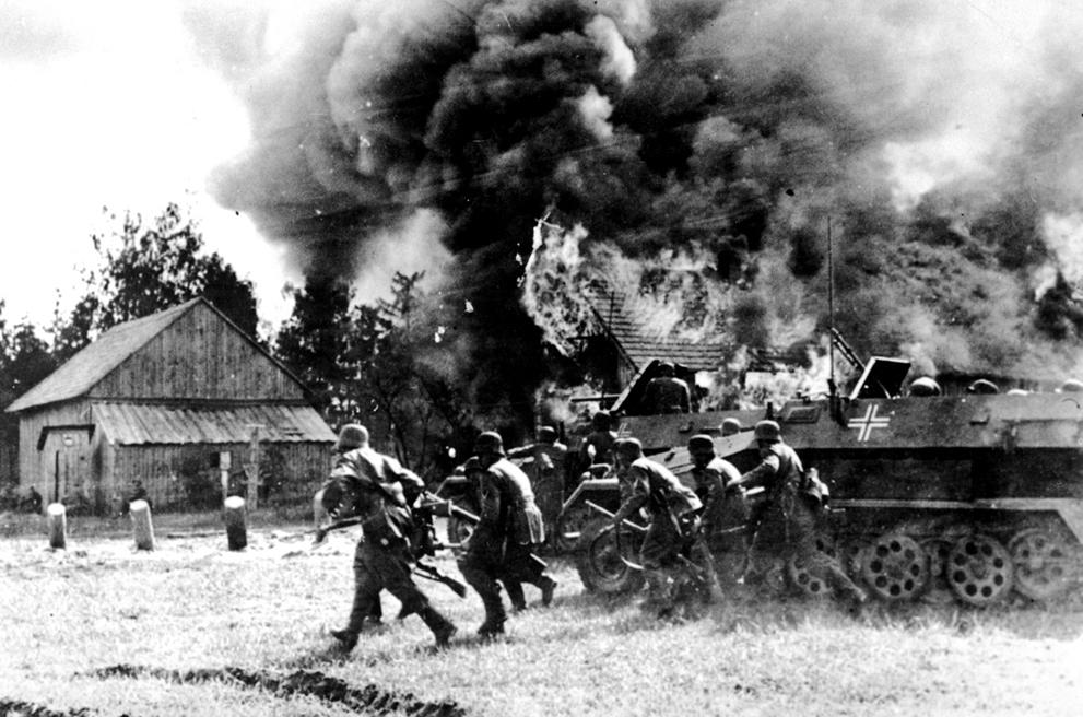 Начало Второй Мировой Войны фото