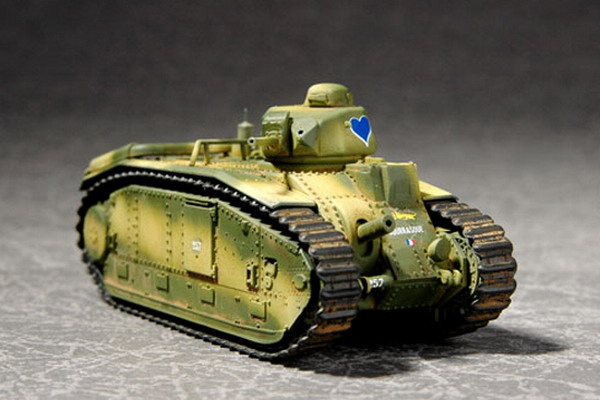 Французский танк B1-bis макет