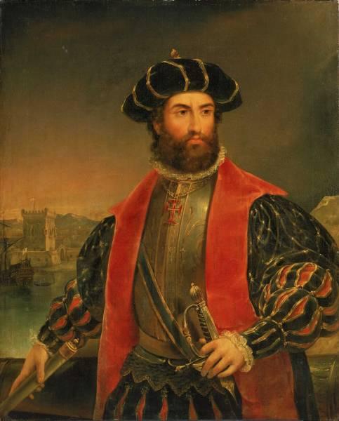 Васко да Гама портрет великого мореплавателя