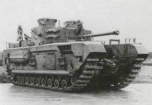 фото танк Черчелль VII