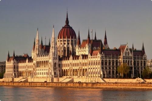 Будапешт. Здание парламента фото