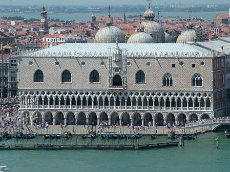 Венеция дворец Дожей фото
