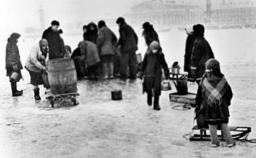 блокадный Ленинград фото