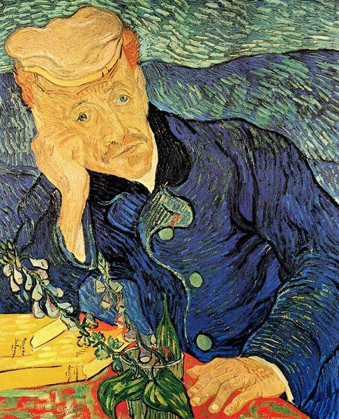 Ван Гог 'портрет доктора Гаше' фото