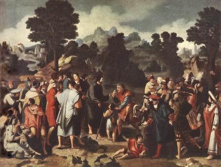 Эль Греко Картина «Чудо исцеления Христом слепых»фото