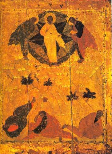 Андрей Рублев икона Преображение фото
