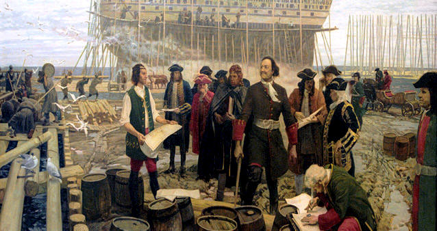 Военные реформы Петра I фото