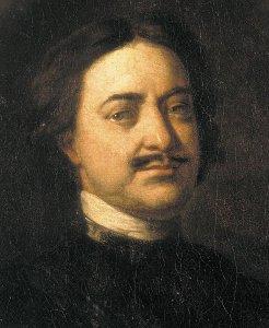 портрет Петра 1 фото