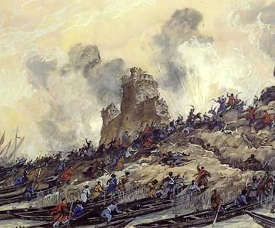 1 азовский поход Петра 1 фото