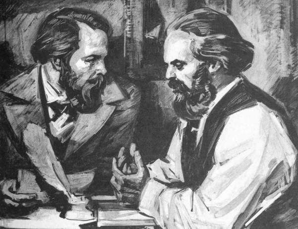 Марксизм. К.Маркс, Ф.Энгельс фото