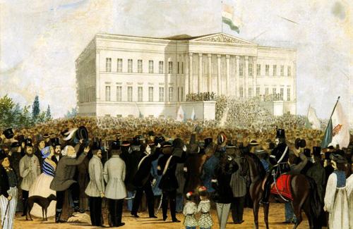 Революция в Венгрии 1848 фото