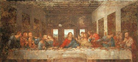 Тайная вечеря Ленардо да Винчи фото