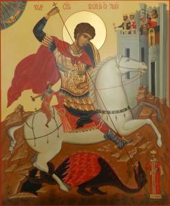 Георгий Победоносец икона фото