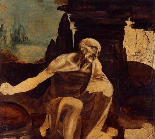 картина Святой Иероним фото